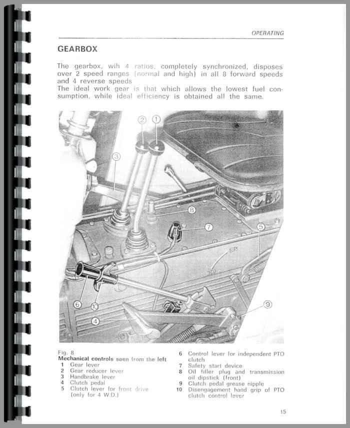 same corsaro 70 tractor operators manual rh agkits com John Deere Tractor Manuals same tractors manual