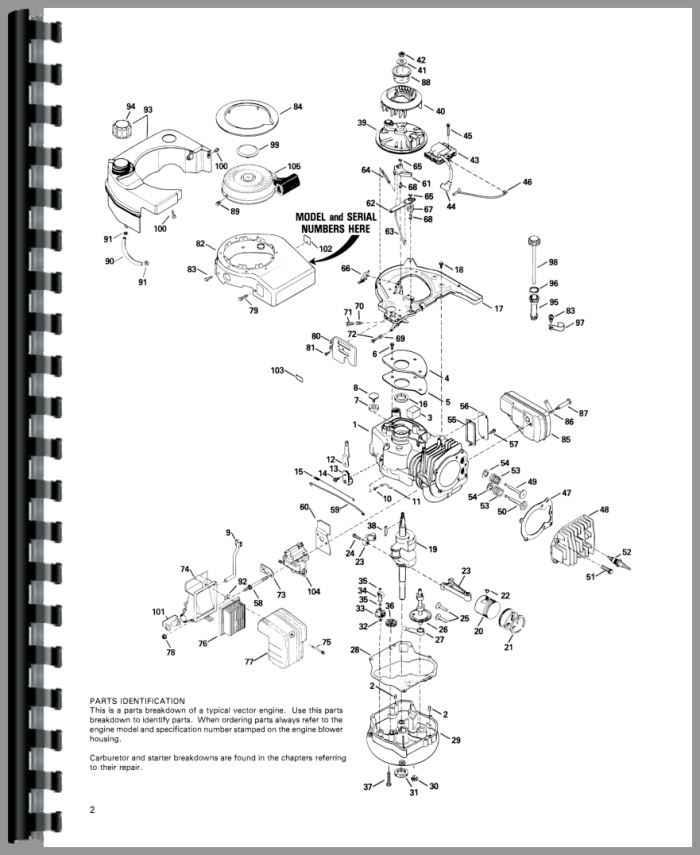 tecumseh vector engine service manual rh agkits com Tecumseh Engine Parts List Tecumseh Engine Parts