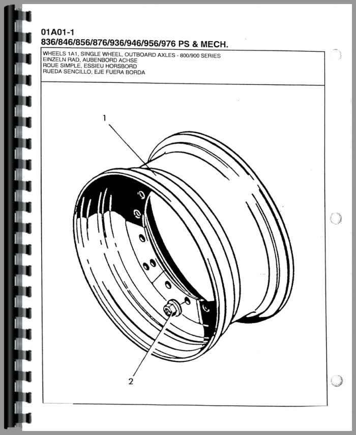 Versatile 836 Tractor Parts Manual