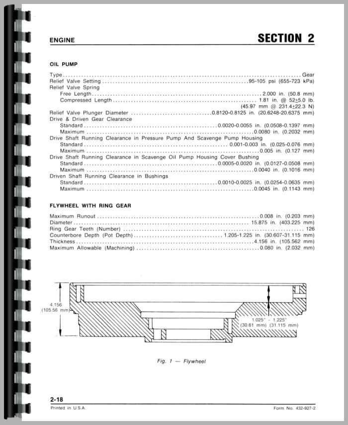 white 2 135 tractor service manual rh agkits com White 2 135 Parts White 2 135 Parts