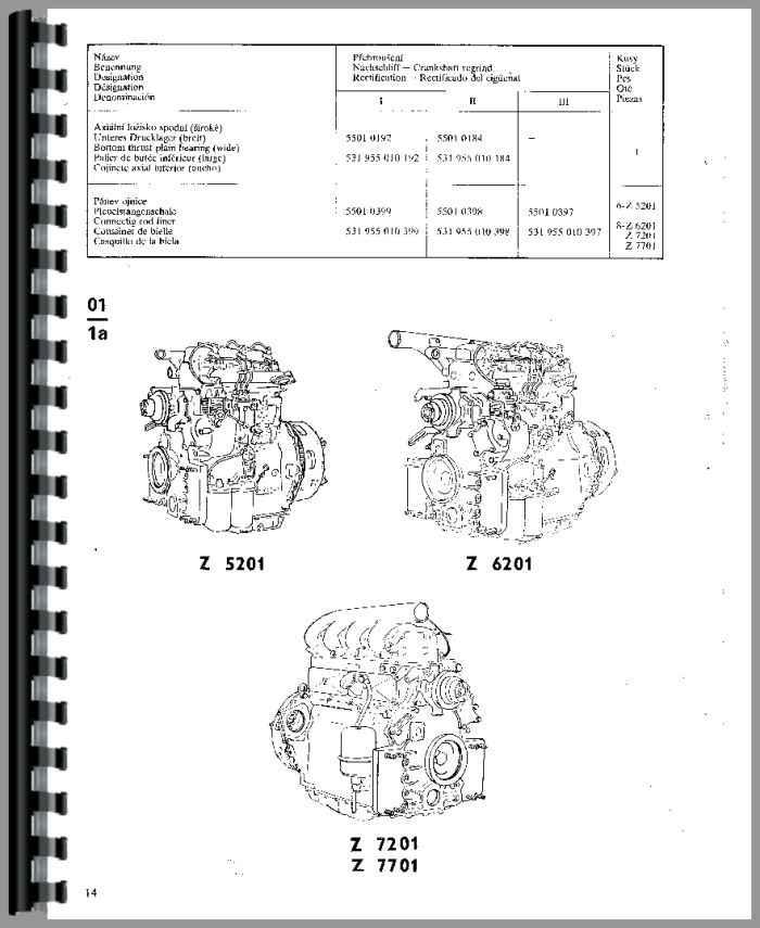 Zetor Tractor Manual on Zetor Parts Diagram