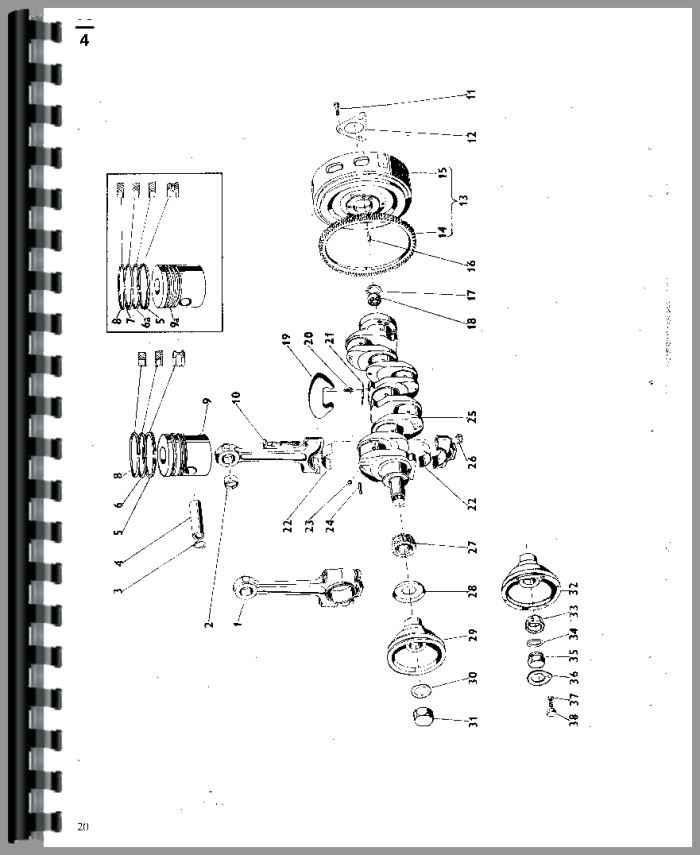 Zetor 7745 Tractor Parts Manual Htze P5211 on hydraulic pump wiring diagram