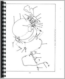 Allis Chalmers Power Steering Cylinder