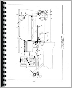 allis chalmers d17 tractor parts manual (htac-pd17)  tractor manual