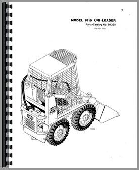 Bobcat Skid Steer Engine Ford