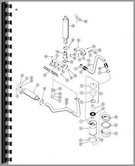 Case 430 Tractor Parts Manual Htca P430 530l