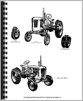 case 1190 tractor service manual