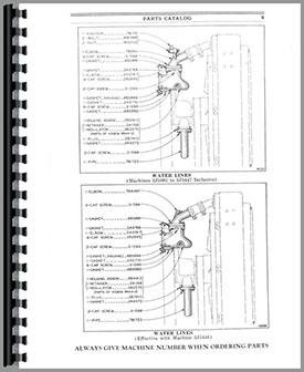 Caterpillar D2 Crawler Parts Manual Htct Pd23j5001