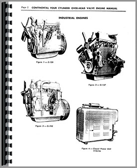 Continental Engines E-208 Engine Service Manual (HTCO-NS4CYLO-H)