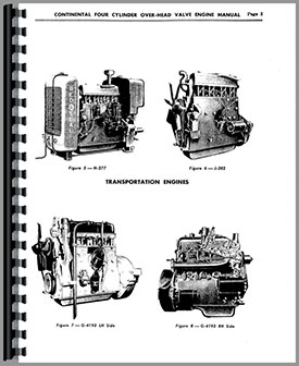 Continental F163 Engine Manual