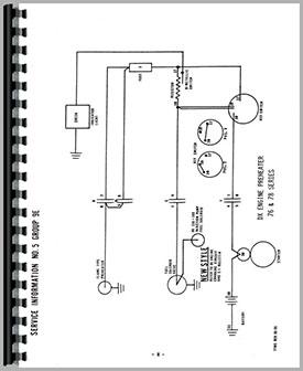 deutz (allis) d2506 tractor wiring diagram service manual (htde swiring) Wisconsin Wiring Diagrams
