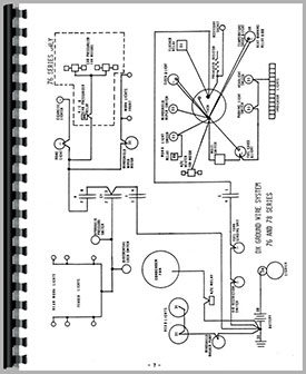 deutz (allis) d6507 tractor wiring diagram service manual (htde swiring) Wisconsin Wiring Diagrams