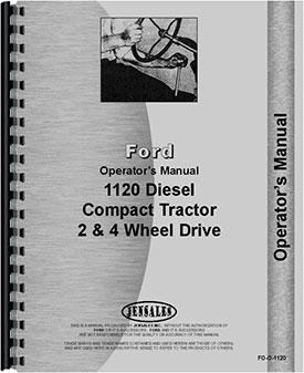 ford 1120 tractor operators manualford 1120 tractor operators manual (htfo o1120)