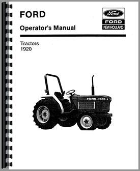 ford 1920 tractor operators manual rh agkits com ford 1920 tractor operator manual ford 1920 tractor parts manual