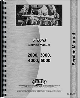 ford 2000 tractor data service manual rh agkits com ford 2000 tractor shop manual ford 2000 tractor shop manual