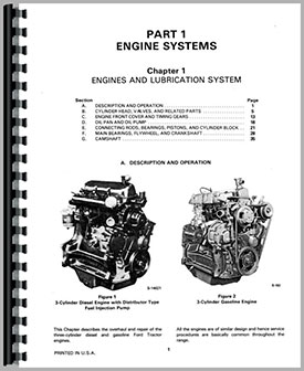 ford 340b industrial tractor service manual ford b tractor wiring  diagram on ford 7600 wiring diagram