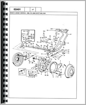 ford 4000 tractor parts manual rh agkits com ford 4000 tractor parts diagram ford 4000 parts breakdown