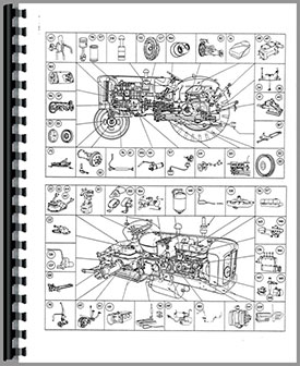 ford 4000 major tractor parts manual. Black Bedroom Furniture Sets. Home Design Ideas