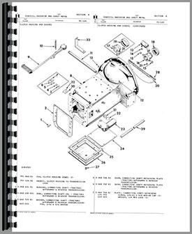 international harvester 3444 industrial tractor parts manual