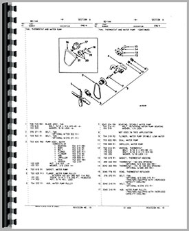 international harvester 454 tractor engine parts manual rh agkits com Chevy 454 Emission System Diagram 1993 454 Engine Cooling Hose Routing