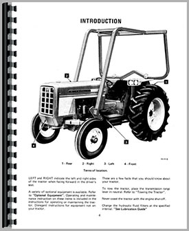 International Harvester 574 Tractor Wiring Diagram