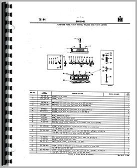 International Harvester 4 Cylinder Engine