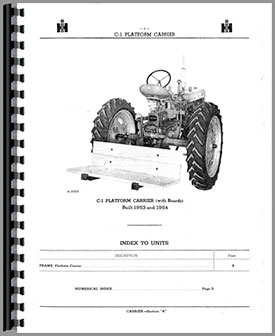 farmall super c tractor implement attachments parts manual 1941 farmall a wiring  harness 6 volt diagram farmall super c parts diagram