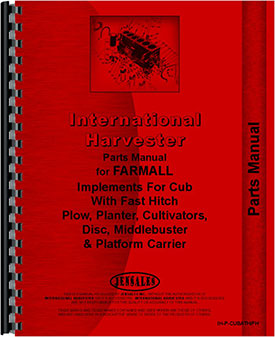 farmall cub lo boy tractor fast hitch attachments parts manual  farmall cub lo boy tractor fast hitch attachments parts manual (htih pcubath fh)