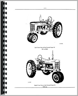 farmall super h tractor parts manual (htih-psuph)  tractor manual