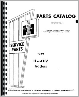 International Harvester Combine Wiring Diagrams