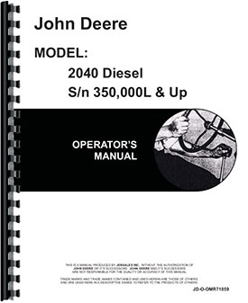 john deere 2240 service manual
