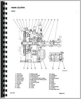 Komatsu Crawler Parts Manual KOM-P-D20P-6