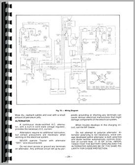 massey ferguson 1135 tractor operators manual rh agkits com