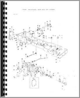 Massey Ferguson Tractor Body Parts on ford lawn tractor belt diagram