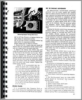 Massey Ferguson 50 Tractor Operators Manual Htmh Omf50 65