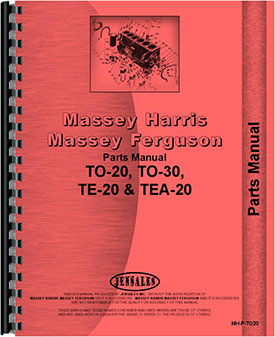 Ferguson to 20 tractor owners manual