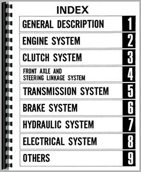 Mitsubishi S470 Tractor Service Manual (HTSA-SBEAVER3)