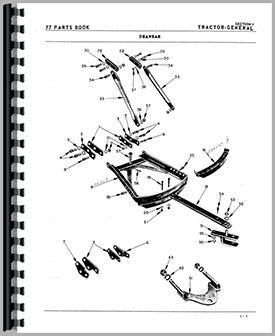 oliver 77 tractor parts manual 6 volt tractor wiring diagram oliver 77 tractor wiring diagram #34