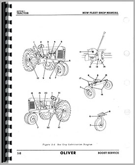 Oliver 77 Tractor Service Manual Htol S667788