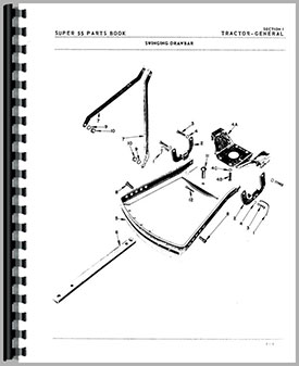 oliver super 55 tractor parts manual (htol psuper55) Oliver 1650 Wiring Diagram