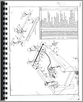 Owatonna 1700 Skid Steer Loader Parts Manual (HTOW-P1700)