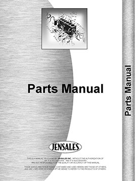 International Harvester 350 Tractor Accessories Supplement Parts Manual  (HTIH-PACCESSORY) Utility
