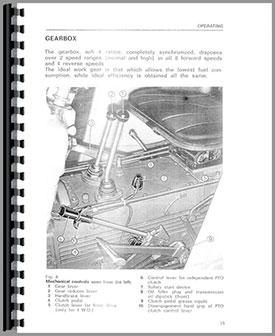 same corsaro 70 tractor operators manual