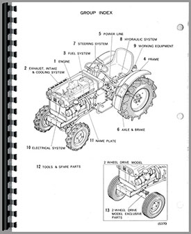Satoh BeaverS 370D Tractor Manual_97902_2__61855 satoh s370d tractor parts manual