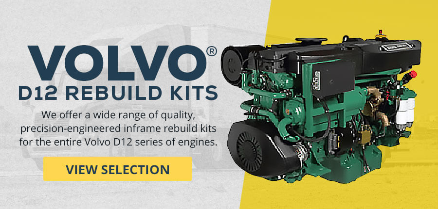 Volvo D12 Rebuild Kits - View Selection
