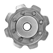 White Combine Elevator Chain Sprockets