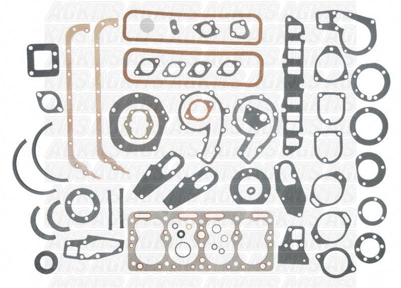 Continental F163 Inframe-Overhaul Engine Rebuild Kit