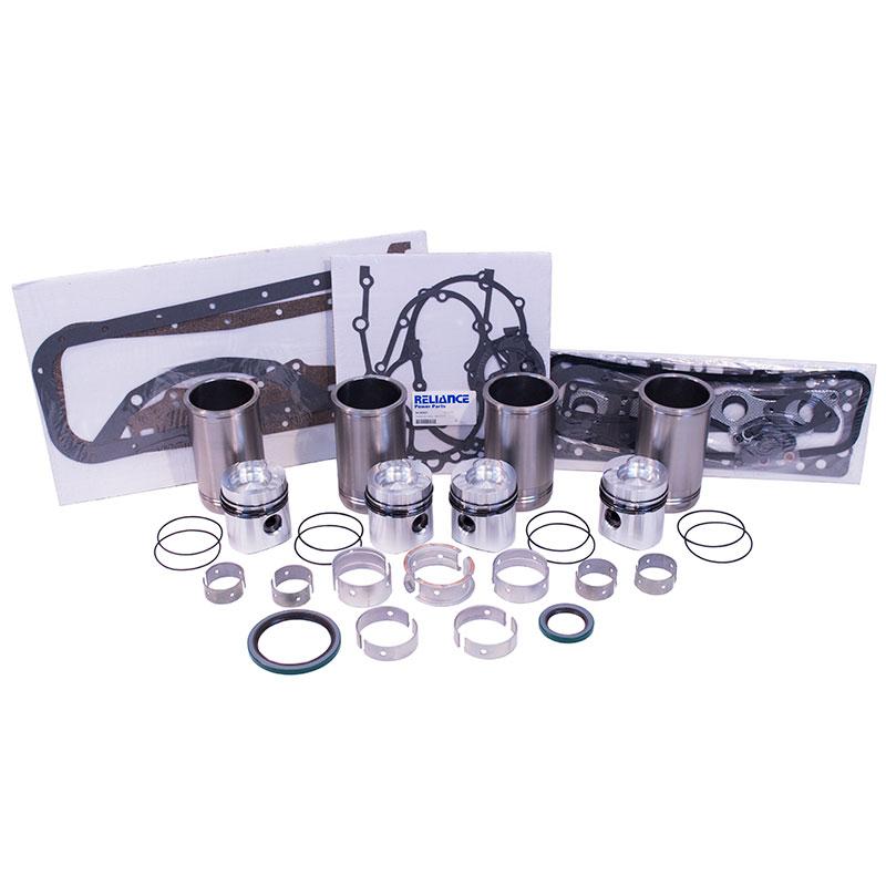 Case 188 3 1L Diesel L4 Inframe Overhaul Engine Rebuild Kit
