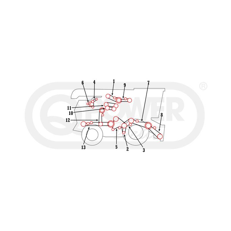 CASE IH 1347387C1 Replacement Belt