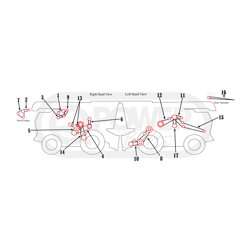 CASE IH 164006C1 Replacement Belt